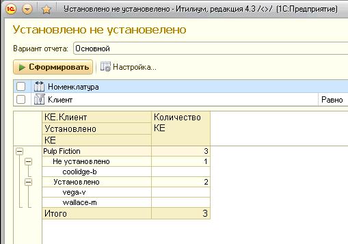 Отчет по установке лицензий